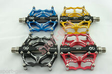 SYUN-LP B013 Aluminium Alloy Bicycle Pedals Sealed Bearings Light Weight  9/16""