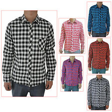 Men Shirt Long Sleeve Casual Plaid Shirts Slim Fit Fashion Male Casual Shirt WS