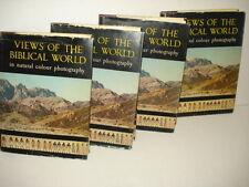 Set of 4 Volumes Views Of The Biblical World In Natural Color Photography 1960