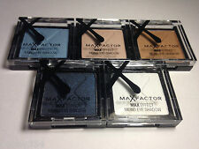 Max Factor Max Colour Effect Mono Eye Shadow - 5 Individual Colours Or Set