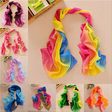 New Fashion Girl's Women Long Soft Wrap Ladies Shawl Silk Chiffon Scarf 48
