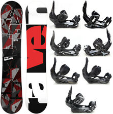 Snowboard Raven Decade Carbon + Bindings Raven s250,s400,s700 M/L or Team L -New