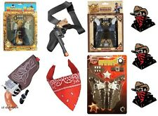 Twin Gun & Holster Sets Single Gun Bandana Cowboy Wild West Guns Fancy Dress