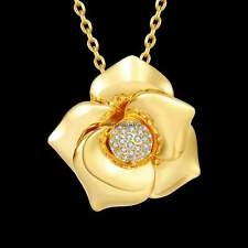 Women Romantic Rhinestone Chains Necklaces Beautiful Shinning Link Chain CaF8