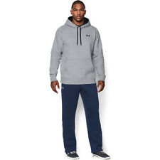 Under Armour Storm Rival Cotton Mens Hoody - Grey Heather All Sizes