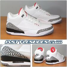 Nike Air Jordan 3 III White Cement Grey 88 Retro 580775-160 Sz 14 DS