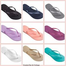 Havaianas Slim Women Flip Flops in variety of colors and all sizes FREE SHIPPING