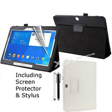 Smart Leather Case Cover Screen Protector Stylus for Galaxy Tab E 9.6 Inch, T560