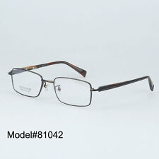 D81042 full rim pure titanium optical glasses frame gent spectacles frames