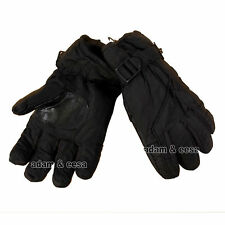 Mens Winter Gloves With Heat Guard Thermal Lining One Size