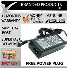 Genuine Original Asus Laptop Notebook Square Power Supply Cable Adapter Charger