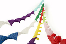 4 SUPERIOR THICKER CREPE PAPER CHRISTMAS PARTY CEILING DECORATIONS STREAMERS RDM