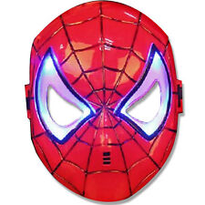 Spiderman Mask Light Up Hero Avenger Marvel Day Night Super Web Boys Party Fancy