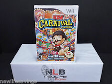 New Carnival Games (Nintendo Wii, 2010) Factory Sealed