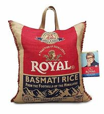 25 / 40 / 50 Pounds Royal Premium Basmati White Rice GMO FREE Aged