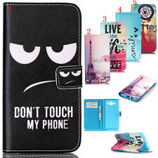 New Card Wallet Flip PU Leather Phone Case Cover For Samsung Galaxy Note Pattern