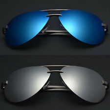 2016 New HD Polarized Sunglasses Mens UV400 Mirrored Driving Eyewear Shades A13
