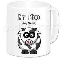 Personalised Gift Animals Funny Cow Coffee Tea 11oz Mug Any Name Any Message Cup