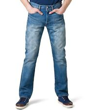 Levis 501 Straight leg Classic Fit Button Fly Mens Blue jeans 005012004  * NEW *