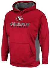 San Francisco 49ers NFL Majestic Mens Gridlock Pullover Hoodie Big & Tall Sizes