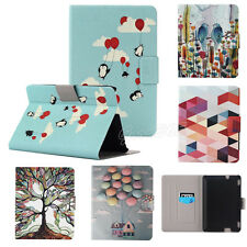 "Wallet Card Slot Leather Stand Case Cover 7"" For Amazon Kindle Fire HDX 7 2015"