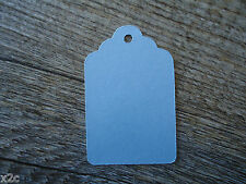 Kraft Light Blue Gift Swing Tags Small Wedding Favour Party Bomboniere Craft