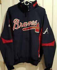 MLB Atlanta Braves Majestic Authentic Collection Therma Base Jacket Men's NWT