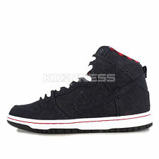 Nike Dunk High Premium SB [313171-441] Skateboarding Denim Dark Obsidian/White