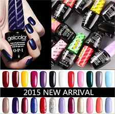 Brand New OPI Gel Color Gel Polish Soak off Popular Gelcolor Top & Base Coat