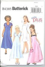 Butterick 4385 Girls' and Girls' Plus Jacket and Dress   Sewing Pattern