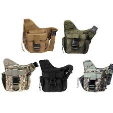 Molle Tactical Shoulder Strap Bag Pouch Portable Backpack Military Bag R0B7