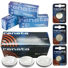 Renata Watch Battery Swiss Made Silver Oxide [All Sizes] Batteries Lithium Cell