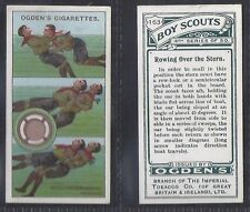 OGDENS - BOY SCOUTS (GREEN BACK 4TH SERIES)(NUMBERS 151-175) SELECT YOUR CARD