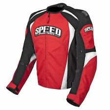 Speed and Strength Twist of Fate 3.0 Textile Jacket Red/Black Motorcycle