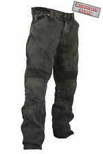 Xelement Classic Fit Blk Denim  Motorcycle Racing Pans Removeable Padding 055000