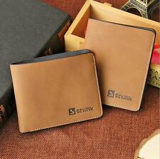 Men's Leather Wallet ID Bifold Business Credit Card Holder Purse Clutch Pockets