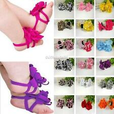 0-12M Baby Toddler Infant Boy Girls Sock Sandals Shoes Barefoot Toe Blooms Shoes