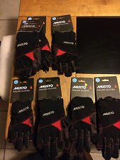 Musto Sailing gloves various styles sizes             CHOOSE FROM DROP DOWN MENU