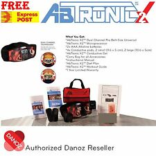 *FULL WARRANTY* GENUINE ABTRONIC X2 ELECTRO MUSCLE SLIMMING TONING BELT MASSAGER