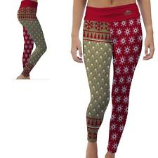 Caldwell Cougars Womens Yoga Pants Christmas Party  Design