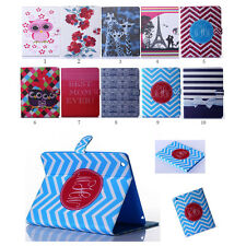 Hot Flip Pattern Leather Case Stand Screen Protector Cover Book For iPad Tablet