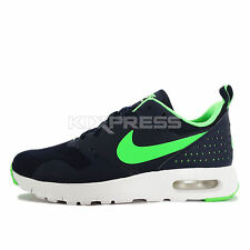 Nike Air Max Tavas GS [814443-400] NSW Running Obsidian/Voltage Green-White