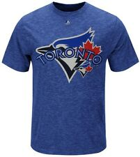Toronto Blue Jays MLB Run Producer Majestic Mens Shirt Royal Big & Tall Sizes