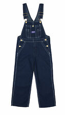 Big Smith - Childrens Dungarees - Blue Indigo Denim Bib Overalls for Kids