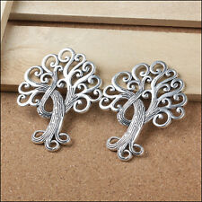 P988 Wholesale Life Tree Tibetan Silver jewelr accessories DIY Pendant 1-5pcs