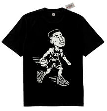 New Fnly94 Pippen Air Uptempo more shoes shirt Black White scottie sz M L XL 2XL