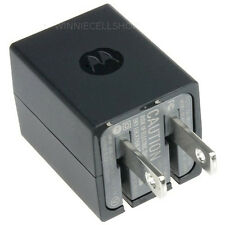 OEM Original MOTOROLA DUAL PORT Home Wall AC Charger Adapter + USB Data Cable