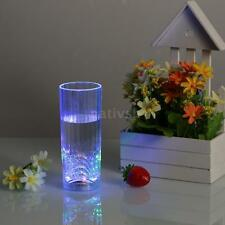 Auto Flashing Led Wine Glass Light Up Barware Drink Cup Mug For Bar Home Ki C7O6