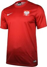 DPOL68: Poland Supporters Tee Euro 2016 Official Nike Fan Jersey - Polish Shirt