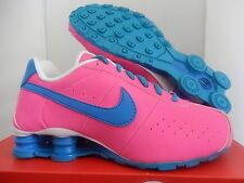 NIB Youth Nike Shox CL Classic GS Shoes sz 6.5Y Pink Blue Lagoon 309711-614 Kids